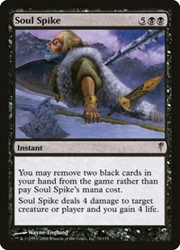 Soul Spike, Magic: The Gathering, Coldsnap