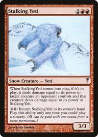Stalking Yeti, Magic: The Gathering, Coldsnap