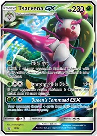 Tsareena GX - SM56, Pokemon, SM Promos