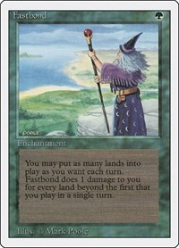 Fastbond, Magic: The Gathering, Revised Edition