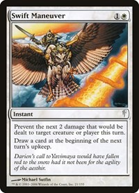 Swift Maneuver, Magic: The Gathering, Coldsnap
