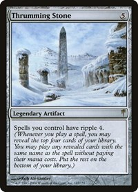 Thrumming Stone, Magic: The Gathering, Coldsnap
