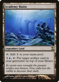 Academy Ruins, Magic: The Gathering, Time Spiral