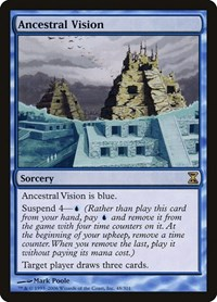 Ancestral Vision, Magic: The Gathering, Time Spiral