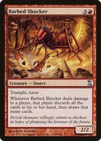 Barbed Shocker, Magic: The Gathering, Time Spiral
