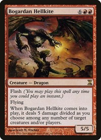 Bogardan Hellkite, Magic: The Gathering, Time Spiral