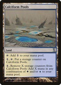 Calciform Pools, Magic: The Gathering, Time Spiral