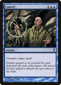 Cancel, Magic: The Gathering, Time Spiral