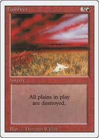 Flashfires, Magic: The Gathering, Revised Edition
