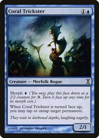 Coral Trickster, Magic: The Gathering, Time Spiral