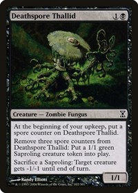 Deathspore Thallid, Magic: The Gathering, Time Spiral