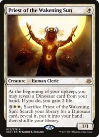 Priest of the Wakening Sun, Magic: The Gathering, Ixalan