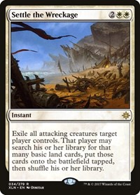 Settle the Wreckage, Magic: The Gathering, Ixalan