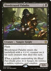 Bloodcrazed Paladin, Magic: The Gathering, Ixalan