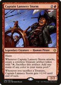 Captain Lannery Storm, Magic: The Gathering, Ixalan