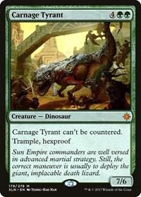 Carnage Tyrant, Magic: The Gathering, Ixalan