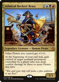 Admiral Beckett Brass, Magic, Ixalan
