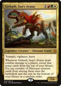 Gishath, Sun's Avatar, Magic: The Gathering, Ixalan