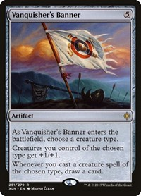 Vanquisher's Banner, Magic: The Gathering, Ixalan