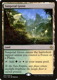Sunpetal Grove, Magic, Ixalan