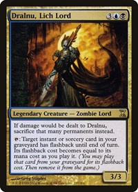 Dralnu, Lich Lord, Magic: The Gathering, Time Spiral