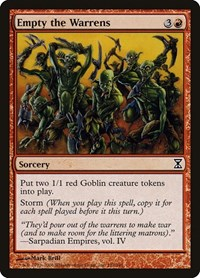 Empty the Warrens, Magic, Time Spiral