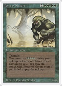 Force of Nature, Magic: The Gathering, Revised Edition