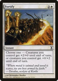 Fortify, Magic: The Gathering, Time Spiral