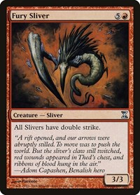 Fury Sliver, Magic: The Gathering, Time Spiral