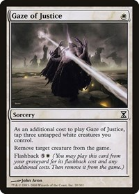 Gaze of Justice, Magic: The Gathering, Time Spiral