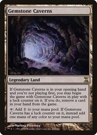 Gemstone Caverns, Magic: The Gathering, Time Spiral
