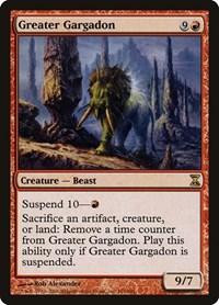 Greater Gargadon, Magic: The Gathering, Time Spiral