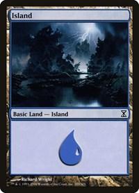 Island (289), Magic: The Gathering, Time Spiral