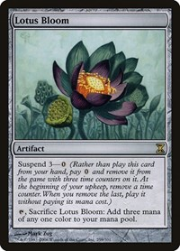 Lotus Bloom, Magic: The Gathering, Time Spiral