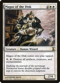 Magus of the Disk, Magic: The Gathering, Time Spiral