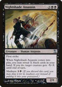 Nightshade Assassin, Magic: The Gathering, Time Spiral