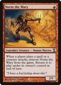 Norin the Wary (Foil)
