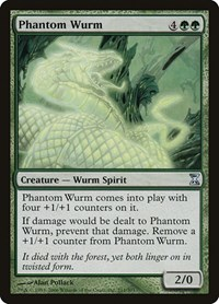 Phantom Wurm, Magic: The Gathering, Time Spiral