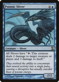 Psionic Sliver, Magic: The Gathering, Time Spiral