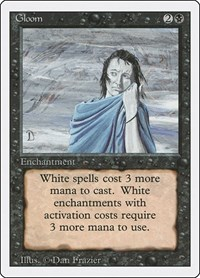Gloom, Magic: The Gathering, Revised Edition