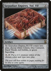Sarpadian Empires, Vol. VII, Magic: The Gathering, Time Spiral