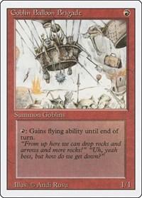 Goblin Balloon Brigade, Magic: The Gathering, Revised Edition
