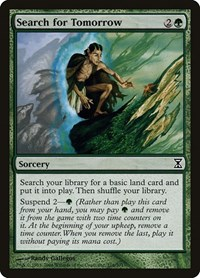 Search for Tomorrow, Magic: The Gathering, Time Spiral