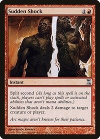 Sudden Shock, Magic: The Gathering, Time Spiral