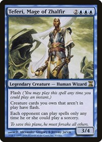 Teferi, Mage of Zhalfir, Magic: The Gathering, Time Spiral