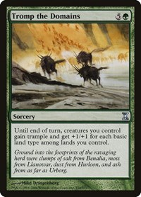 Tromp the Domains, Magic: The Gathering, Time Spiral