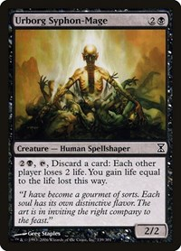 Urborg Syphon-Mage, Magic: The Gathering, Time Spiral