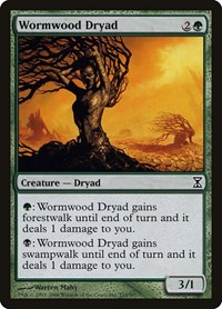 Wormwood Dryad, Magic: The Gathering, Time Spiral