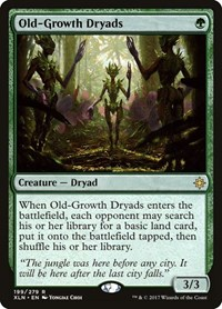 Old-Growth Dryads, Magic: The Gathering, Ixalan