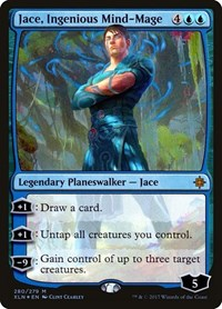 Jace, Ingenious Mind-Mage, Magic: The Gathering, Ixalan